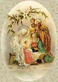 Idän tietäjät kumartavat Jeesusta - Loppiainen